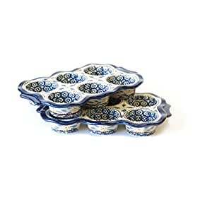 Amazon.com: Temp-tations Old World Set of Two 6-cup Muffin Pans, Blue