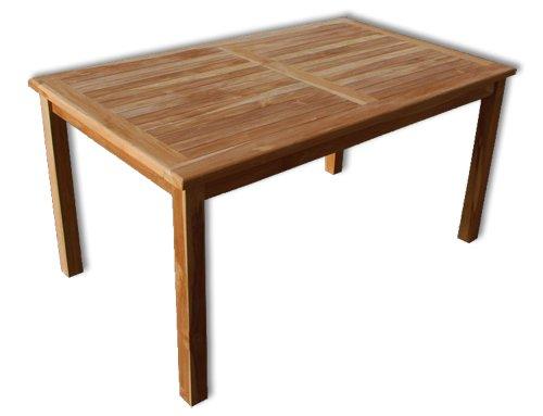 KMH®, Gartentisch (150 x 90 / ECHT TEAK) (#102115) jetzt kaufen