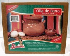 Lead Free Clay Bean Pot #3 (Mexican Clay Cookware compare prices)