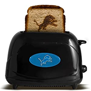 Detroit Lions Toaster - Black by Hall of Fame Memorabilia
