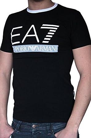 T-shirt EMPORIO ARMANI homme manches courtes noir