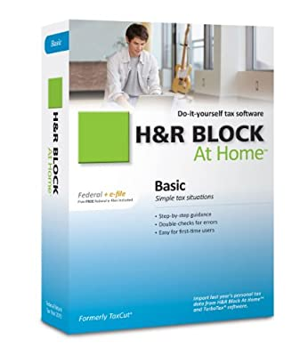 H&R Block At Home 2010 Basic Federal + eFile