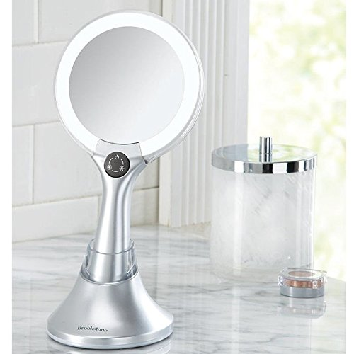 2 In 1 Lighted Handheld Mirror Ehouseholds Com