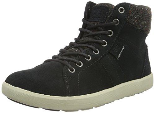 Helly Hansen W Madieke, Sneaker a Collo Alto Donna, Nero (Jet Black/Natura/Espr), 42 EU