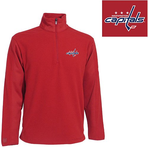 Antigua Washington Capitals 1/4 Zip Frost Pullover