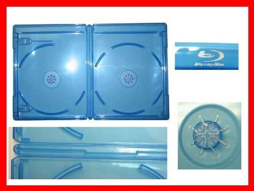 12.5 mm Viva Elite Blu-Ray Double Case Box Standard Size Hold 2 Discs (25 Pcs a Pack Sold) [+Peso($44.00 c/100gr)] (US.ME.22.99-7.49-B00CXWJQ4E.2667)