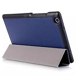 ProElite Ultra Sleek Flip Case cover for Asus Zenpad Theater 8.0 [Dark Blue]