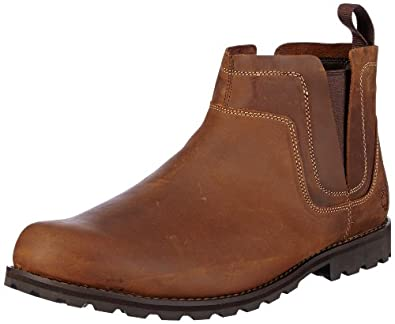 Timberland Earthkeepers Original, Men's Chelsea Boots, Red/Brown, 6.5 UK
