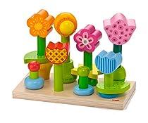 HABA Bonita Garden Wooden Stacking Peg Toy
