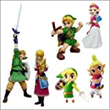 Legend of Zelda Skyward Sword Exclusive Figure Set of 6