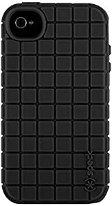 Speck Products PixelSkin Rubberized Case for iPhone 4/4S - 1 Pack - Carrying Case  - Black