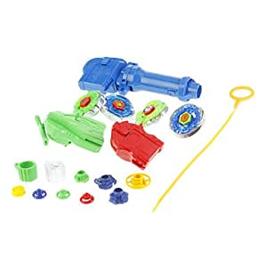 Get Top Set Metal Rapidity Beyblade Toy