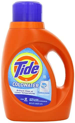 Tide ColdWater HE Fresh Scent Detergent, 50 Ounce