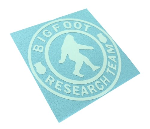 BIGFOOT RESEARCH TEAM Decal Sasquatch Yettie Funny Car Window Vinyl Sticker (Come With Zombie Hunter Permit Decal) (Outdoor Decals compare prices)