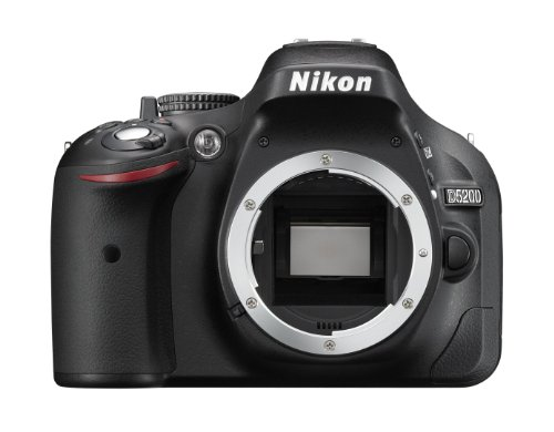 Nikon D5200 Digital SLR Camera Body Only - Black (24.1MP) 3 inch LCD