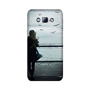 Samsung Galaxy A8 Designer Printed Covers (Samsung Galaxy A8 Back Cover) - Alone Girl