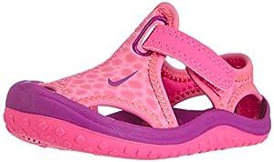 Nike Sunray Protect - Zapatos primeros pasos de material sintético para niña