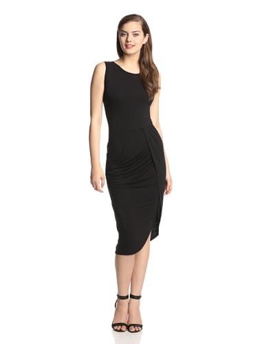 Muse Women's Tank Dress with Tulip Wrap Skirt