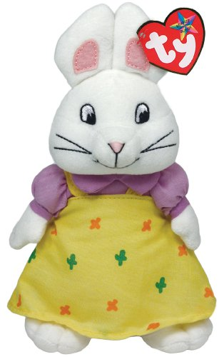 Ty Beanie Buddies Ruby Bunny Plush, Medium