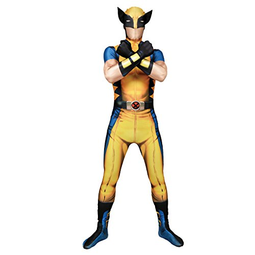 Morphsuits - Costume per Travestimento - Wolverine, colore multicolor, taglia L (161cm-177cm)