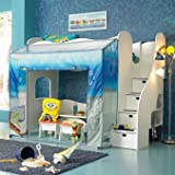 Nick SpongeBob SquarePants Adventure Loft Bed by Nickelodeon Rooms by Lea K ....