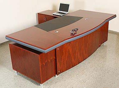 Chef Schreibtisch Büromöbel Paris linksseitig