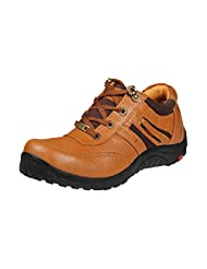 Red Chief Men RC5028 Tan Nubuck Lace-ups