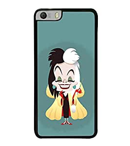 Fuson Premium 2D Back Case Cover Magician girl With blue Background Degined For Micromax Canvas Knight 2 E471