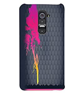 LG G2 TREE Back Cover by PRINTSWAG