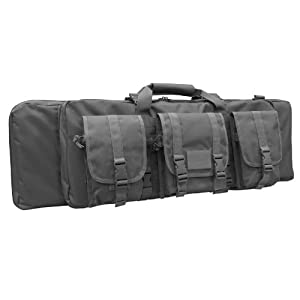 Condor Single Rifle Case (Black, 36 x 12 x 3-Inch)