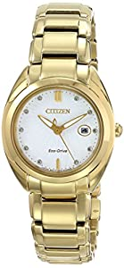 Citizen Women's EM0312-57A Celestial Analog Display Japanese Quartz Gold Watch