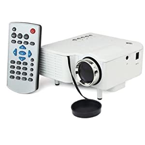 "60"" Portable Mini Hd LED Projector Cinema Theater,Support PC Laptop HDMI VGA Input and SD + USB + AV Input,for iphone,galaxy,laptop,mac.with Remote Control? from Citi Electronic"