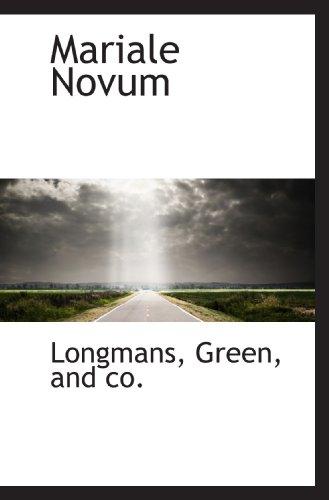 Mariale Novum