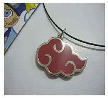 NARUTO - Pendentif collier NARUTO Cosplay AKATSUKI Embleme
