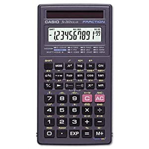 Casio Fx 260solar: Fx-260 All Purpose Scientific Calculator