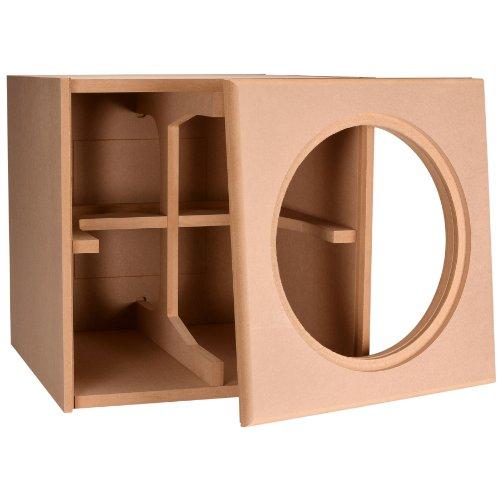"Knock-Down Mdf 3.0 Ft³ Subwoofer Cabinet For Dayton Audio Dvc385-88 15"" Dvc Subwoofer"