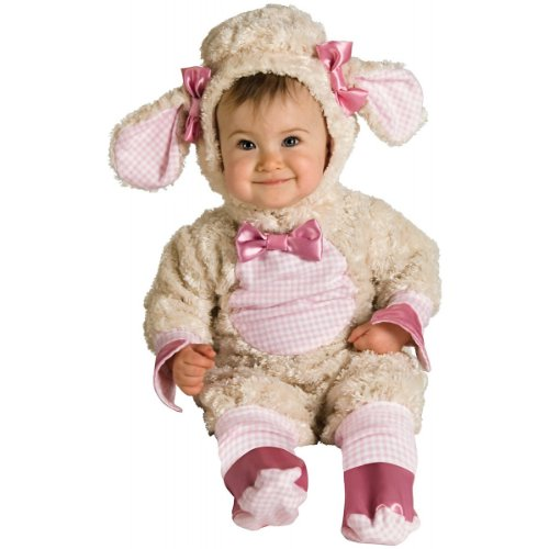 NEW 12-18 Month Babies' Adorable Lucky Lil Lamb Romper Halloween/ Easter Costume