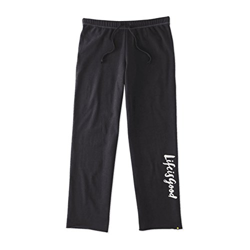 Life is good Fleece Lounge Pants Lig Painted Pants, Night Black, Large (Life Is Good Women Sweatpants compare prices)