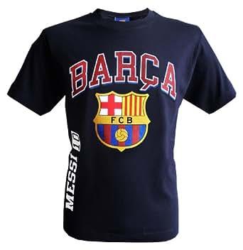T-shirt Lionel MESSI - N°10 - FC BARCELONE - Collection officielle - FC BARCELONA - BARCA - Football club Espagne - Tee shirt enfant