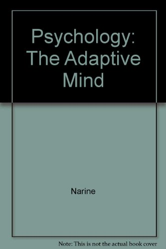 Study Guide for Nairne's Psychology: The Adaptive Mind