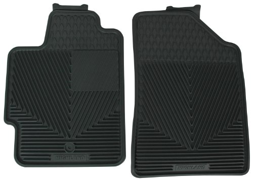 Highland 4502100 All-Weather Gray Front Seat Floor Mat front-189254