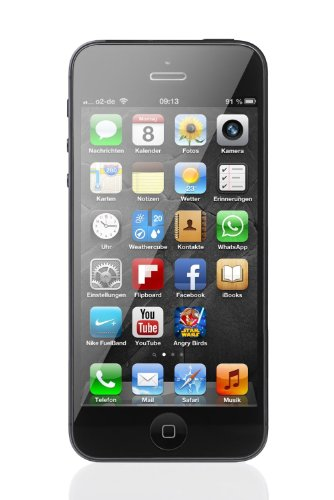 Apple iPhone 5 Cellphone, 16GB, Black (AT&T) (Locked Iphone 5s At&t compare prices)
