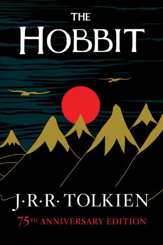 Book cover to 'The Hobbit, or There and Back Again'