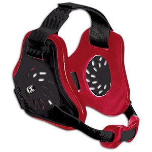 Cliff Keen Twister Wrestling Headgear - COLOR: Black/Red/Black