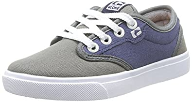 Globe Motley, Baskets mode mixte enfant - Multicolore (15157 Charcoal/Navy), 32.5 EU (13 UK) (1 US)