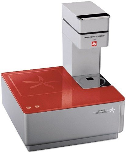 Illy Caffe Y1.1 216623 Touch Espresso Machine, Red
