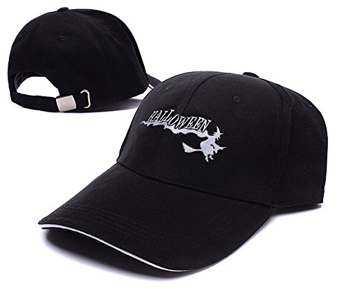 df79e8adeca Halloween Witch Logo Adjustable Baseball Caps Unisex Snapback Embroidery  Hats