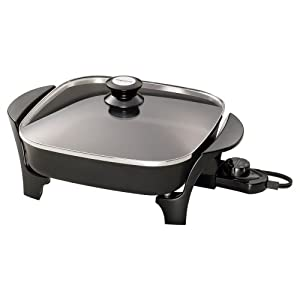 Presto Presto 06626 11-inch Electric Skillet with Glass Lid