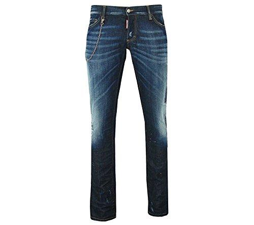Dsquared - Jeans slim - Herren - Jeans Slim Light Destroy Chain für herren - 52 thumbnail
