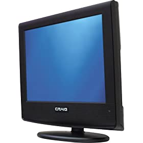 CRAIG 15 INCH HIGH DEFINITION TV 720P CLC501